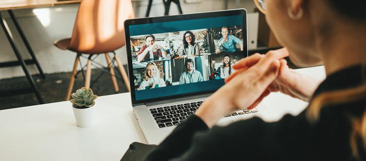VR Bank Business Talk - online - Tapetenwechsel gewünscht?